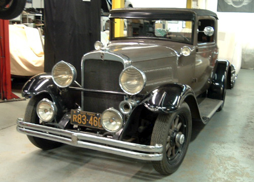 1929 Nash Special Six Coupe