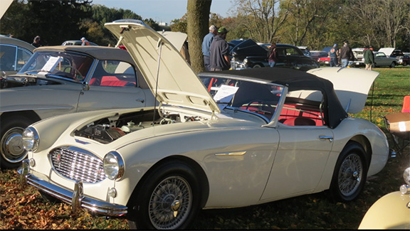 We were pleased to help Jim Lesher bring his 1957 Austin-Healey 100-S to concours standards.