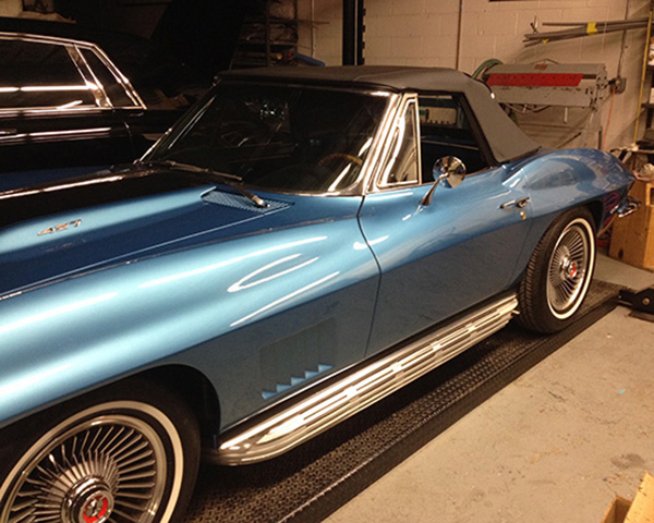 A prized 1967 Corvette Sting Ray convertible