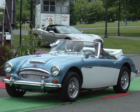 A 1967 Austin-Healey restored to concours-class condition by K&T Vintage