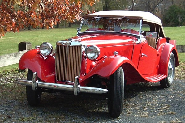This 1950 MG TD, restored at K&T Vintage, earned a perfect 100 to take top honors at the 2012 British Invasion Concours d'Elegance in Stowe, Vt.